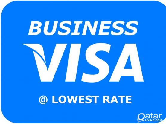 Low Rate Qatar Business/ Visit/ Tourist Visa - 31533860 (1, 3, 6, 9 Months Available) fast