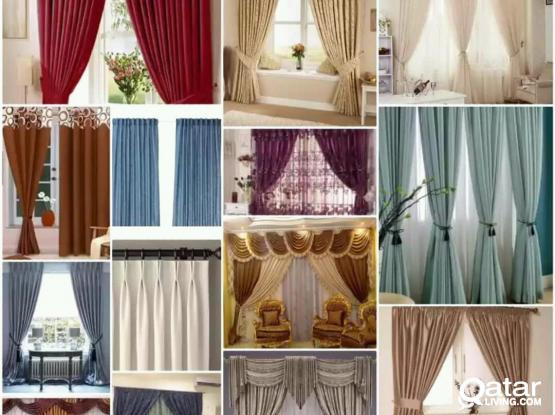 Making new and sale,Curtains, Carpet, blinds,Vatical Roler, sofa repair and cloth change work. Please call.70089601