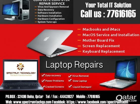 Computer formatting and Repair of Laptop and Desktop # Door step