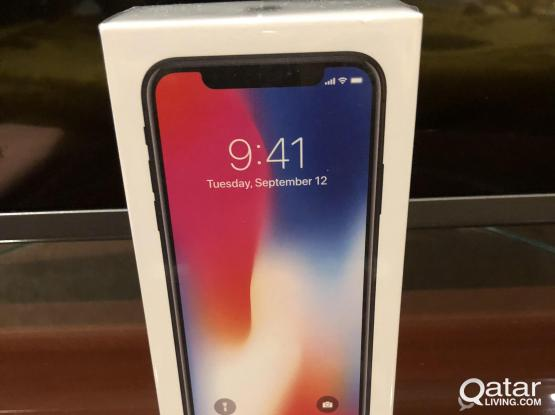Brand NEW iPhone X 64GB (USA MODEL) Only QR5000