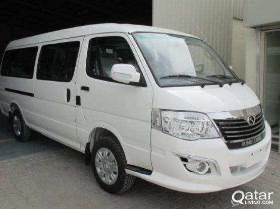 King Long Van 2017