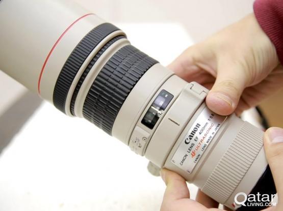 CANON 400mm F5.6 L ALMOST NEW