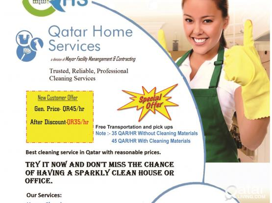 Maids-Hourly Basis for Residential/Commercial Cleaning|Call for Special Offers:30603076/44