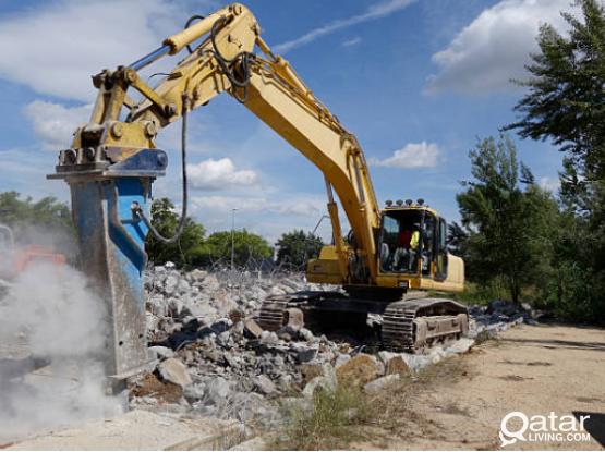 Excavation  and Demolitiong Work