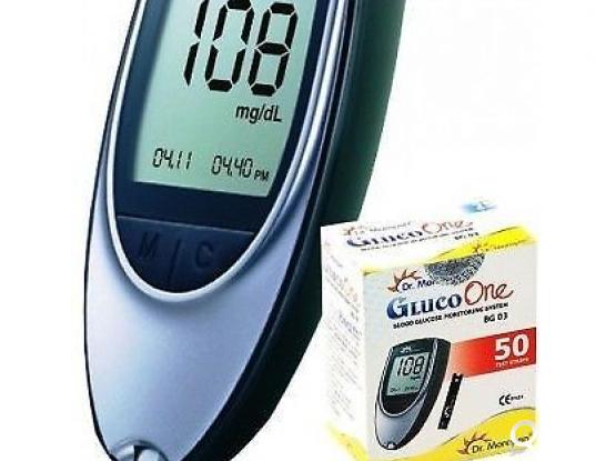 DR.MOREPEN BLOOD GLUCOSE MONITOR + 50 TEST STRIPS
