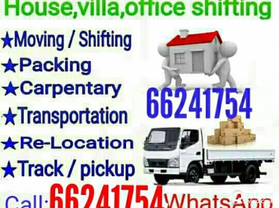 moving and Shifting. Carpenter painting & Pickup Services   call 66241754