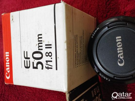 Canon EF 50mm f/1.8 II (lens) for Sale!!!