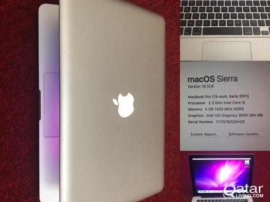 Macbook pro 2011 350 gb