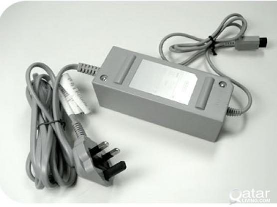 Wii Ac adapter 230V  AV CABLE