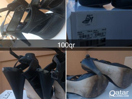 Preloved Aldo heels size 38 100qr