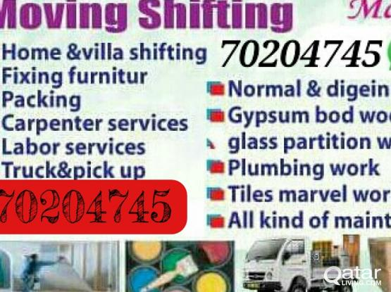 ( Beast price) Moving shifting carpenter painting  70204745