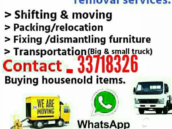 moving..shifting..carpenter..transportation service..call me-33718326
