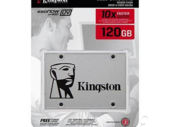 Kingston UV400  120 GB 2.5 Inch SSD (New sealed)