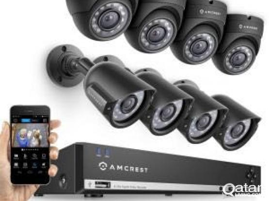 CCTV and network cabling Installation(Office or Home)