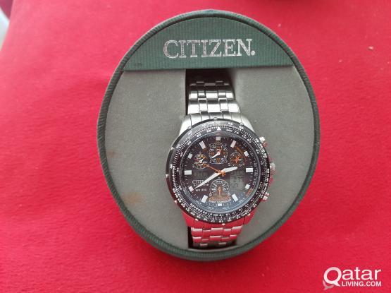 Watch Citizen Eco SKYHAWK A-T Never needs Battery