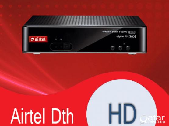 Airtel, Dish tv, Intelsat 17 etc. Dish and installation available Airtel HD receiver