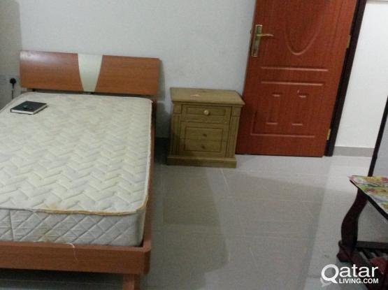 Two single beds with mattresses available for sale
