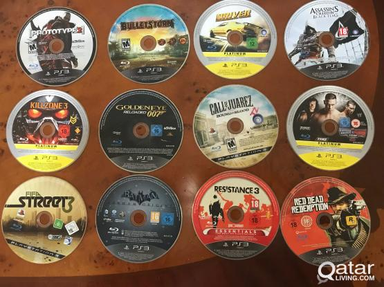 CDs for PS3