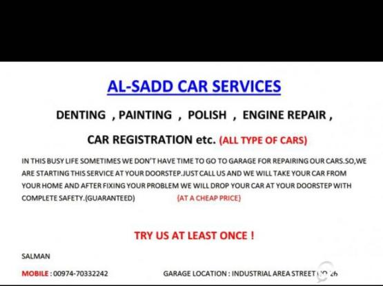 CAR REPAIRING SERVICE AT YOUR DOORSTEP