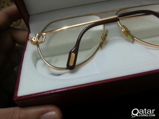 1988 vintage Cartier Louis Rosegold Sunglasses