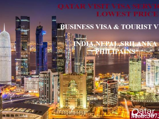 Very Very Low Rate Qatar Tourist Visit/ Business Visa Available.