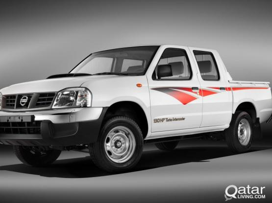 nissan double cabin pick up for rent (spacial offer rate)call 74747598
