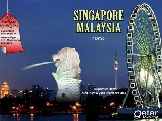 Singapore and Malaysia touring package and visas