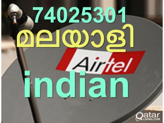 airtel hd satellite dish antenna installation