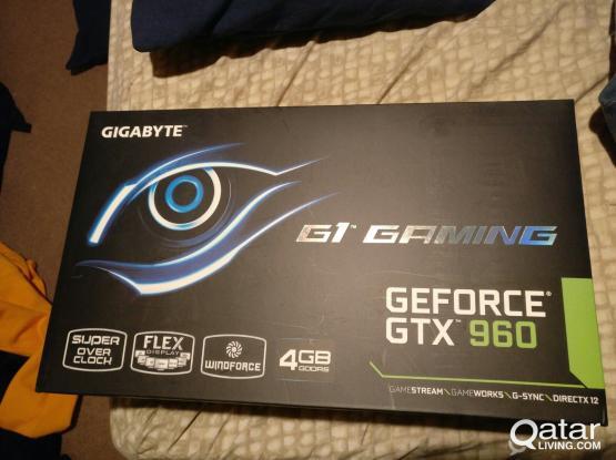 Gigabyte GeForce GTX 960 G1 4GB G1 Gaming OC Edition Graphics Card