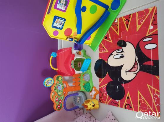 Toys including Vtech