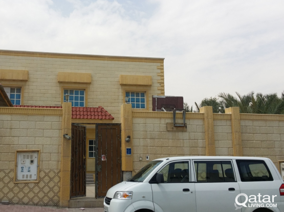 Executive Bachelor Accommodation-Bed Space, @ AL WAKRA in New Luxurious Villa@ BEHIND KFC