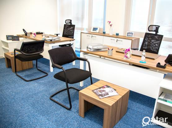 """Trade License & Furnished Offices  At """"Markaz"""""""