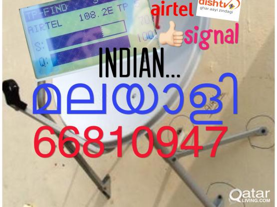 airtel hd dish antenna installation and services airtel shifting. tuning relocation all sa