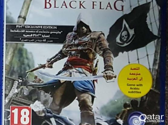 assassin creed black flag ps4 sale or swap