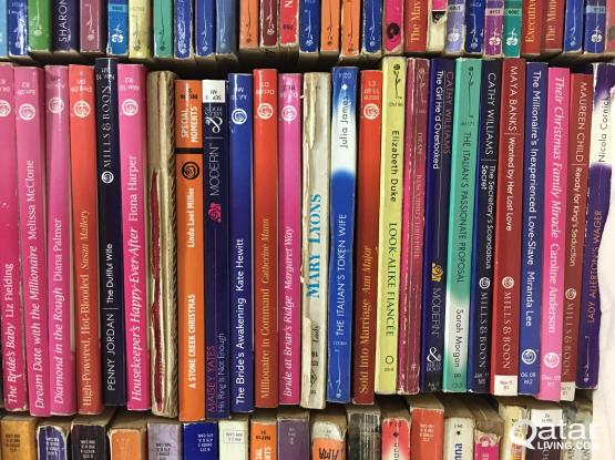 English novels Mills and Boon and other   Qatar Living