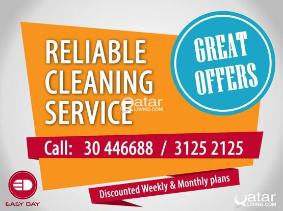 RELIABLE CLEANING SERVICES SPECIAL OFFERS AVAILABLE