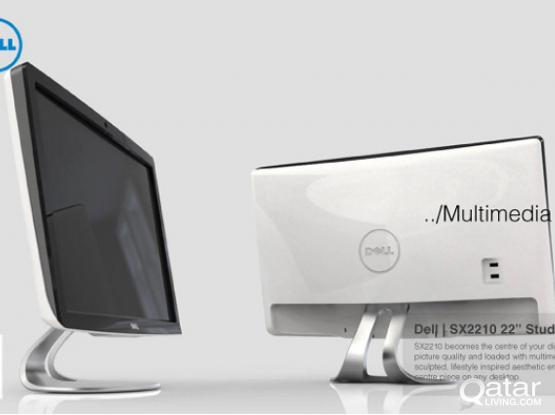 """Dell SX2210 Full HD 55cm (21.5"""") Full HD Widescreen Monitor with Webcam   Perfect for Mac"""