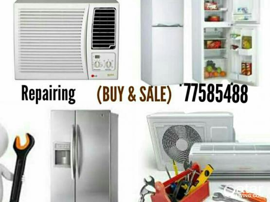 All king Ac fixing work repair buying & selling Used A/C 77585488