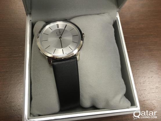 Calvin Klein Minimal K3M211C6 Stainless Steel Unisex Watch