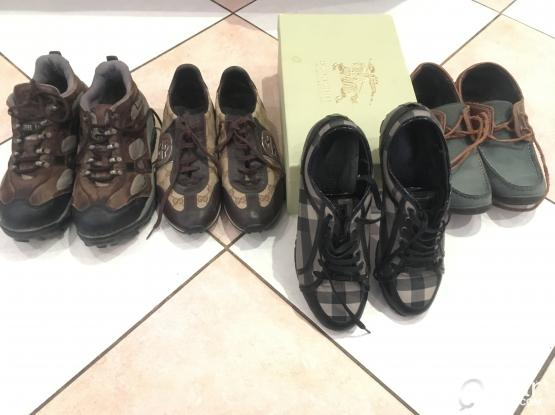 Burberry, Gucci & Woodland Shoes for sale