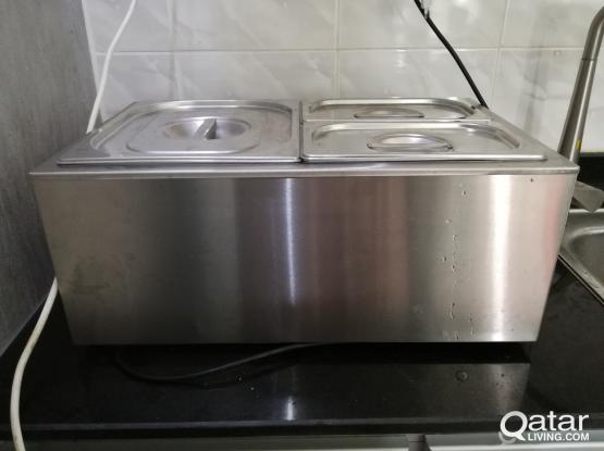 Electric Food & Souse Warmer Bain Marie for Keeping Food Warm (GRT-ZCK165AT-3)