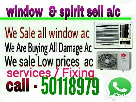 A/C Sell, services & fixing repair A/C Buy..call :50118979