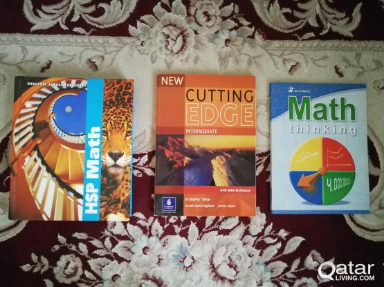 Math and English Books