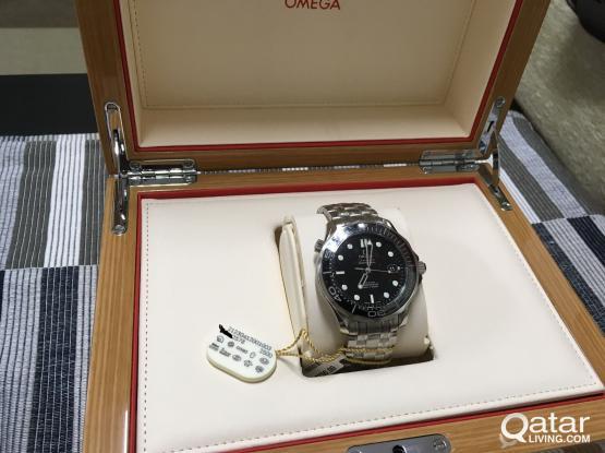 """Brand new Omega """"Bond"""" Seamaster - black dial"""