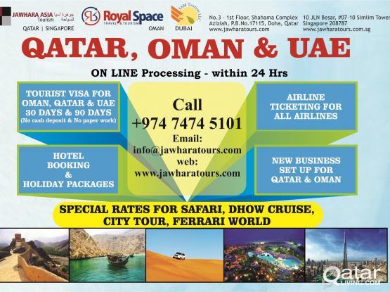KUWAIT-QATAR-OMAN-UAE VISA