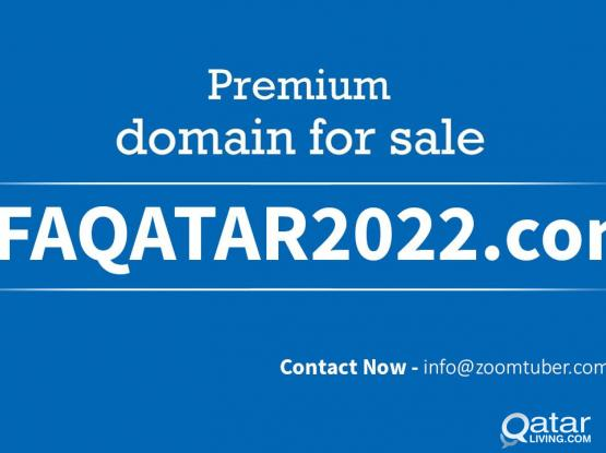 FIFAQATAR2022.com (Premier domain name for sale)