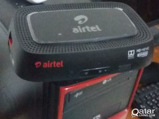 AIRTEL BRAND NEW RECEIVER OWN YOUR NAME