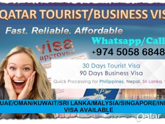 Very Low Rate Qatar Tourist/Business visa