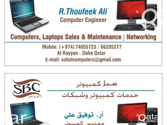 COMPUTER,LAPTOP MAINTENANCE and SERVICE @ YOUR HOME / OFFICE - 74055723