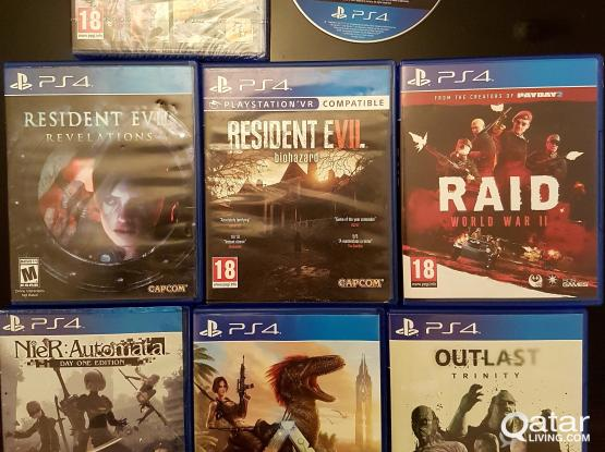 Sony PS4 High Quality Games For Sale@